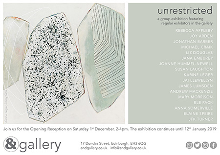 unrestricted, &Gallery, Edinburgh